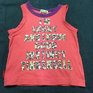 ティンカーベル(TINKERBELL)のタンクトップ サイズ100(Tシャツ/カットソー)