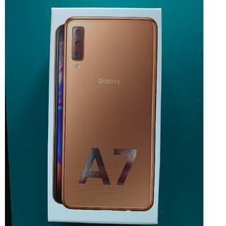 Galaxy - Galaxy A7 ゴールド Rakuten 美品