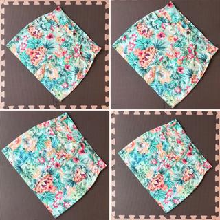 GRL - GRL グレイル 花柄 大花柄 フラワー カラフル タイトスカート ミニスカート