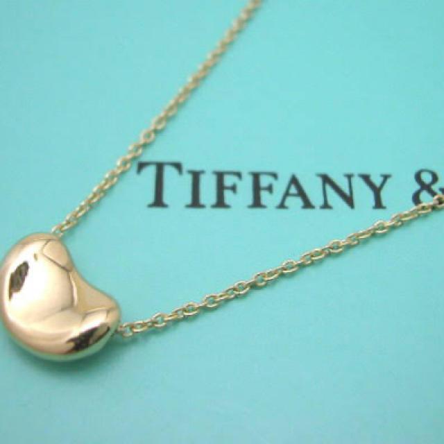 Tiffany & Co.(ティファニー)のtiffany ビーンズ ゴールド レディースのアクセサリー(ネックレス)の商品写真