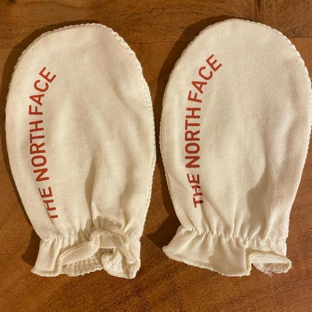 THE NORTH FACE(ザノースフェイス)のノースフェイスベビー手袋 キッズ/ベビー/マタニティのこども用ファッション小物(手袋)の商品写真