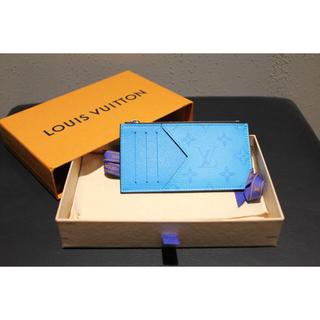 LOUIS VUITTON - ★新品/未使用★ ルイ・ヴィトン コイン・カードホルダー タイガラマ ブルー