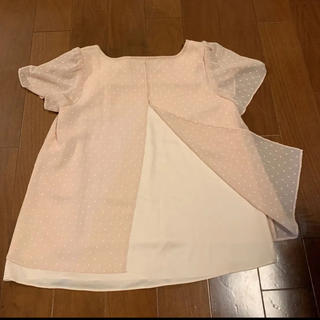 クミキョク(kumikyoku(組曲))のクミキョク s2 ブラウス 薄ピンク(シャツ/ブラウス(半袖/袖なし))