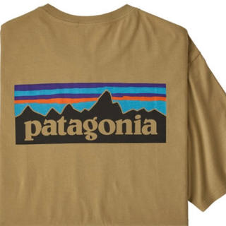 patagonia - 新品タグ付 パタゴニア オーガニックコットンTシャツ ロゴ L