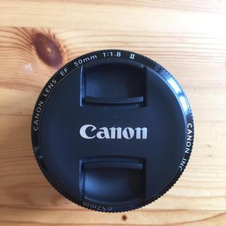 Canon - CANON 単焦点レンズ EF 50mm 1.8 Ⅱ