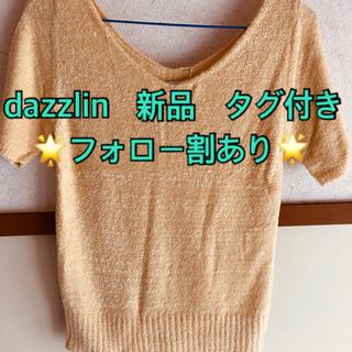 ダズリン(dazzlin)の新品 タグ付き 定価5390円 ダズリン トップス(Tシャツ(半袖/袖なし))