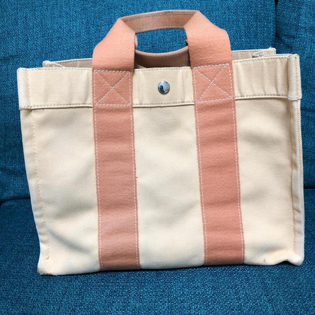 Hermes(エルメス)の値下げHERMES コキアージュ GMサイズ オレンジ レディースのバッグ(トートバッグ)の商品写真