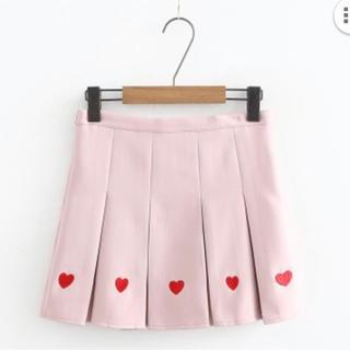 WEGO - くすみピンク スカート スカパン 韓国