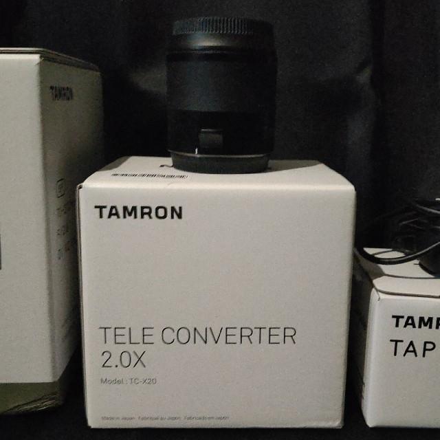 TAMRON(タムロン)の【まえまこ様】Tamron tele conveter 2.0×   ニコン用 スマホ/家電/カメラのカメラ(その他)の商品写真