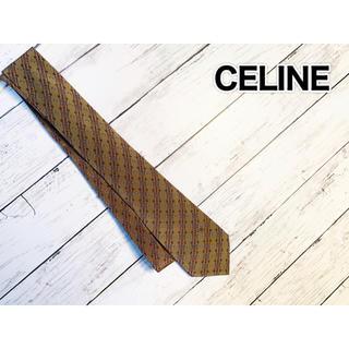 セリーヌ(celine)の#117 CELINE セリーヌ ネクタイ シルク100%(ネクタイ)