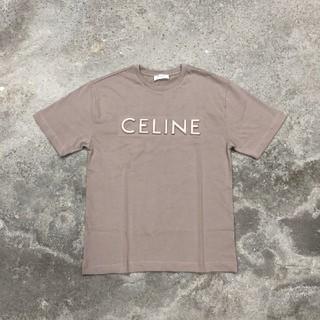 CELINE 20ss SOHO 店限定立体プ 模様を刷り込む Tシャツ(Tシャツ(半袖/袖なし))