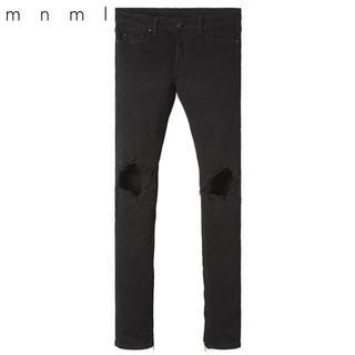 mnml M1 STRETCH DENIM ミニマル ストレッチ デニム 30