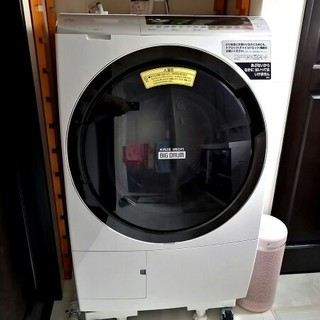 日立 - ★美品 使用少 2020年11月まで保証有 2019年製 ドラム式洗濯機 日立