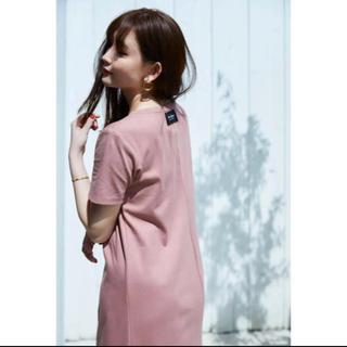 snidel - her lip to Relaxed T-Shirt Long Dress