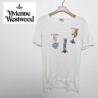 ヴィヴィアンウエストウッド(Vivienne Westwood)のVivienne Westwood MAN デザインTシャツ(Tシャツ/カットソー(半袖/袖なし))