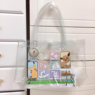 ポケモン(ポケモン)の𓊆 新品限定品♡ポケモンビニールクリアバッグ 𓊇 (トートバッグ)