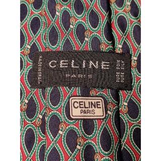 celine - 【CELINE】ネクタイ 高級感ある総柄