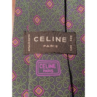 セリーヌ(celine)の【CELINE】美品 ネクタイ ワンポイントロゴ(ネクタイ)