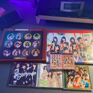 エーケービーフォーティーエイト(AKB48)のAKB48 CD 缶バッジセット カレンダー メモ帳(アイドルグッズ)