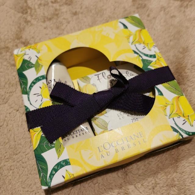 L'OCCITANE(ロクシタン)のフルールグラヴィオラ メルシーキット コスメ/美容のボディケア(ハンドクリーム)の商品写真
