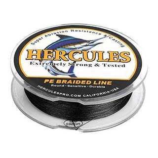 ブラック 150M0.8号 (4.5kg/10lb 0.12mm)ヘラクレス(H(釣り糸/ライン)