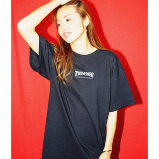 スラッシャー(THRASHER)のTHRASHER 黒Tシャツ(Tシャツ(半袖/袖なし))