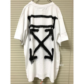 OFF-WHITE - 新品【 OFF-WHITE 】SPRAY PAINTING T-Shirt M