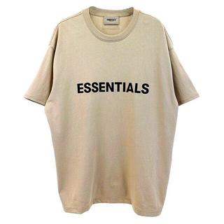 FEAR OF GOD - 新品正規品 FOG ESSENTIALS 20SS ロゴ Tシャツ トープ タン