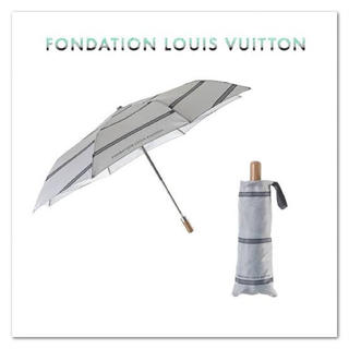 ルイヴィトン(LOUIS VUITTON)のパリ限定🇫🇷ルイヴィトン美術館 折り畳み傘 日本未入荷(傘)