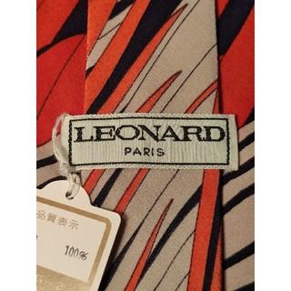 レオナール(LEONARD)の【LEONARD】新品 ネクタイ 高級感ある総柄(ネクタイ)
