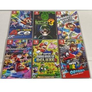 Nintendo Switch - Nintendo Switch ソフト 6本セット