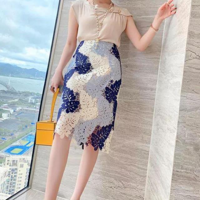 eimy istoire(エイミーイストワール)のレースグラマラススカート レディースのスカート(ミニスカート)の商品写真