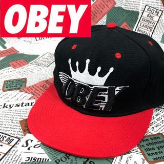 オベイ(OBEY)の夏最終セール‼️レア☆デッドストック❗【OBEY】オベイ キャップ(キャップ)