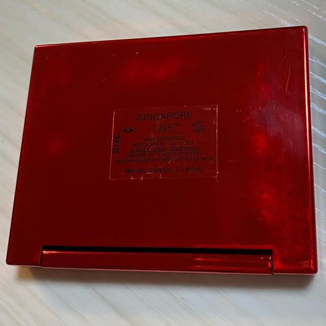NARS(ナーズ)の限定パケ nars クワッドアイシャドー 3972 シンガポール コスメ/美容のベースメイク/化粧品(アイシャドウ)の商品写真
