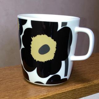 マリメッコ(marimekko)のマリメッコ マグカップ 400ml ウニッコ ブラック 1点 (グラス/カップ)