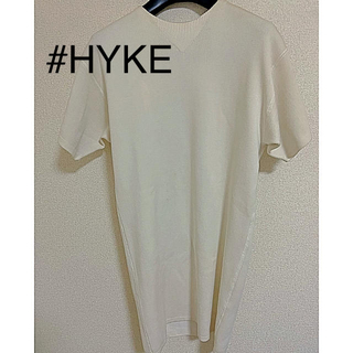 ハイク(HYKE)のセール中】HYKE コットンニット ワンピース(ひざ丈ワンピース)
