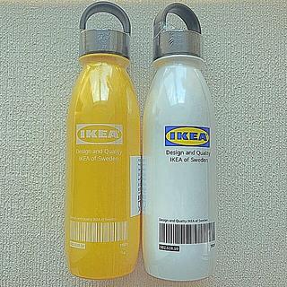 イケア(IKEA)の【新品】IKEA イケア  原宿店先行販売 エフテルトレーダ 水筒 二本セット(弁当用品)