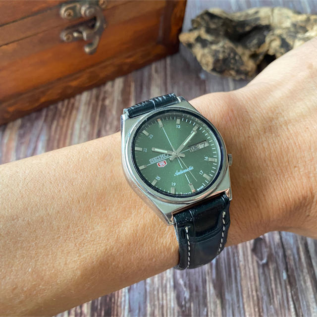 SEIKO(セイコー)の★あしながおじさん様専用★SEIKO5★ヴィンテージ★自動巻き★メンズ腕時計★ メンズの時計(腕時計(アナログ))の商品写真