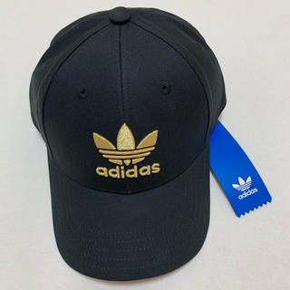 adidas - 新品 アディダス オリジナルス   ゴールド ベースボール キャップ 帽子