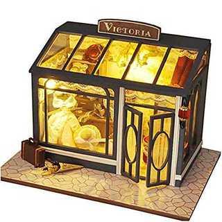 ビクトリア洋装店[リトルスワロー] 世界のおしゃれなショップ ミニチュア ドール(模型/プラモデル)