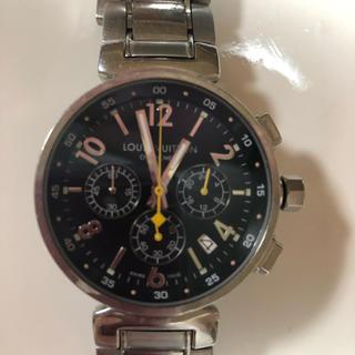 ルイヴィトン(LOUIS VUITTON)のルイヴィトン タンブール クロノ(腕時計(アナログ))