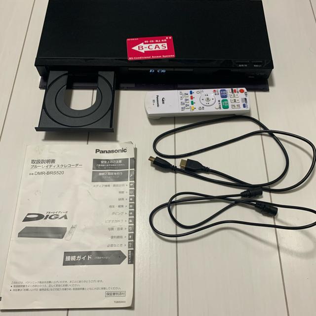 Panasonic(パナソニック)のPanasonic DIGA ブルーレイレコーダー スマホ/家電/カメラのテレビ/映像機器(ブルーレイレコーダー)の商品写真