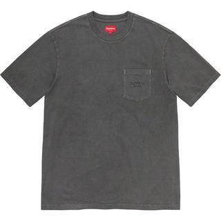 Supreme - Supreme Overdyed Pocket Tee ポケット Tシャツ M