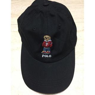 ポロラルフローレン(POLO RALPH LAUREN)のポロラルフローレン ポロベアー キャップ  ブラック(キャップ)