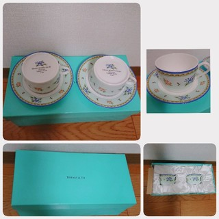 ティファニー(Tiffany & Co.)のTIFFANY & Co.コーヒーカップ ペア(グラス/カップ)