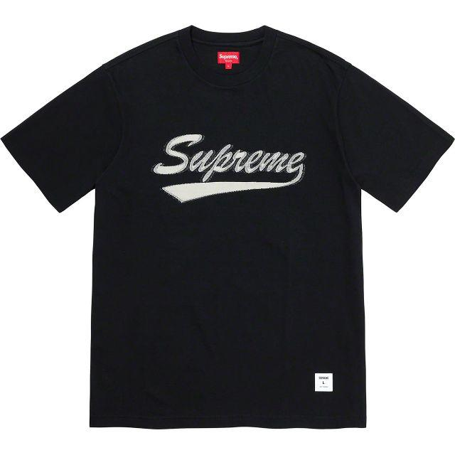 Supreme(シュプリーム)のSupreme Intarsia Script S/S Top L Tシャツ メンズのトップス(Tシャツ/カットソー(半袖/袖なし))の商品写真
