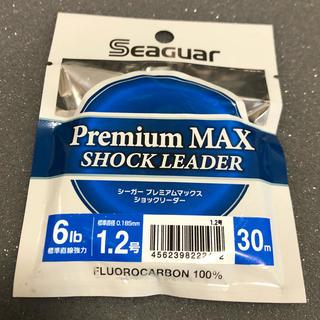 クレハ シーガー プレミアムマックス ショックリーダー 1.2号 6lb 30m(釣り糸/ライン)