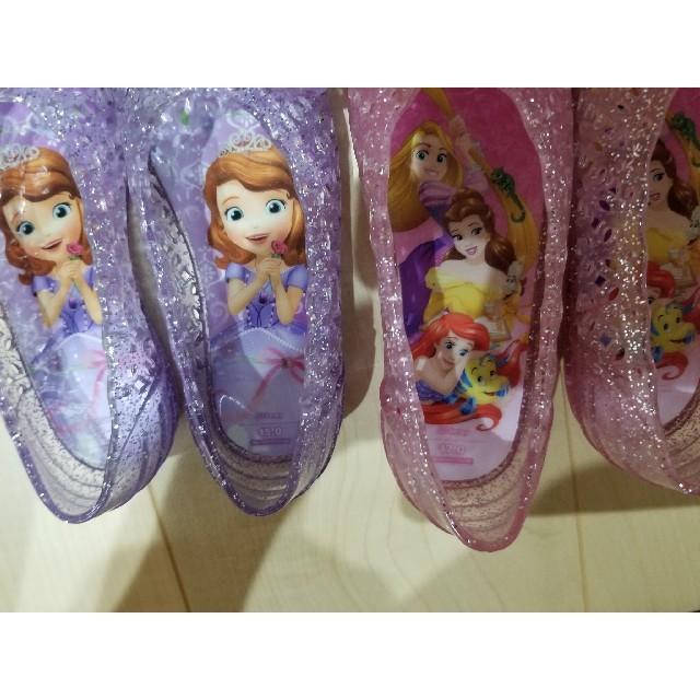 Disney(ディズニー)のプリンセス サンダル キッズ/ベビー/マタニティのキッズ靴/シューズ(15cm~)(サンダル)の商品写真