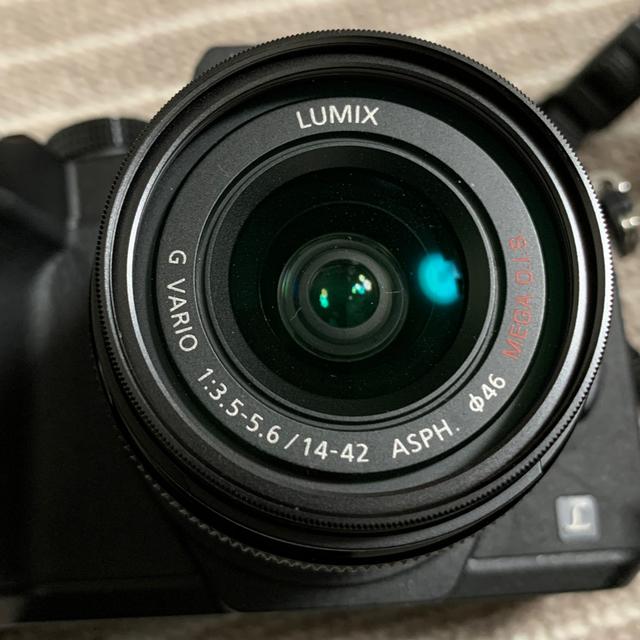 Panasonic(パナソニック)のPanasonic DMC−G8 レンズセット スマホ/家電/カメラのカメラ(ミラーレス一眼)の商品写真