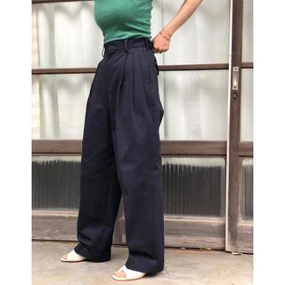 jonnlynx - fumika Uchida twill 3 tuck pants